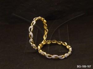 Ad Jewellery , Arabic Shape Delicate Ad Bangles | Manek Ratna