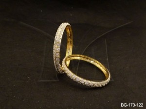 Ad Jewellery , Delicate Party Wear Ad Bangles | Manek Ratna