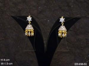 Ad Jewellery , Ghungru Bell Ad Earrings | Manek Ratna