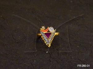Ad Jewellery , Knight Sky Designer Ad Finger Ring | Manek Ratna