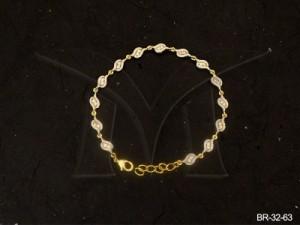 Ad Jewellery , Koyari Shaped Ad Bracelets | Manek Ratna