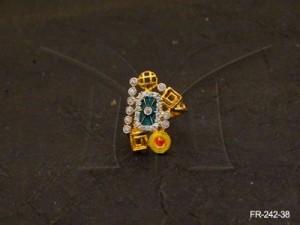 Ad Jewellery , Mixed Figured Ad Finger Rings | Manek Ratna