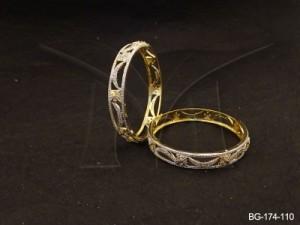 Ad Jewellery , Moon Stars Stylish Ad Bangles | Manek Ratna
