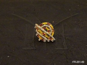 Ad Jewellery , Polo Round Bowl Ad Finger Rings | Manek Ratna