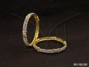 Ad Jewellery , Ribbon Tied Party Wear Ad Bangles | Manek Ratna