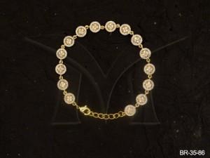 Ad Jewellery , Round Flower Ad Bracelets | Manek Ratna
