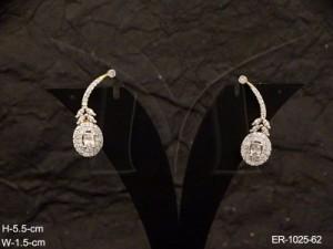 Ad Jewellery , Round Hold Cuff Ad Earrings | Manek Ratna