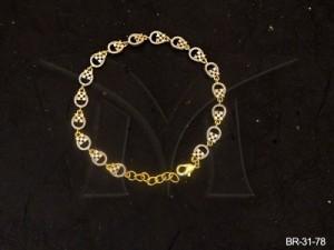 Ad Jewellery , Round Square Ad Bracelets | Manek Ratna