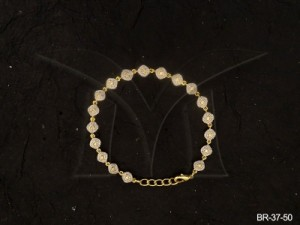 Ad Jewellery , Rounded Chaukor Ad Bracelets | Manek Ratna
