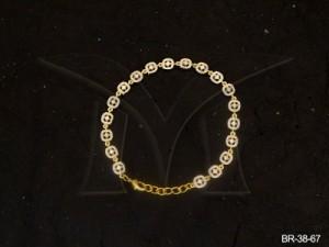 Ad Jewellery , Rounded Square Ad Bracelets | Manek Ratna