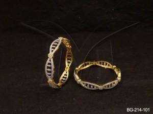 Ad Jewellery , Seed Patterned Ad Bangles | Manek Ratna