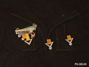 Ad Jewellery , Tri Triangle Arrow Ad Mangalsutra | Manek Ratna