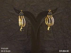 Ad Jewellery , Triplet Bali Awesome Ad Earrings | Manek Ratna