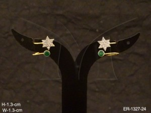Ad Jewellery , Star Style Ends Dress Ad Kanful Earring | Manek Ratna