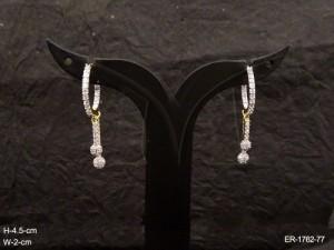 Ad Jewellery , Delicate Round Bali Style Ad Earrings | Manek Ratna