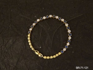 Ad Jewellery , Flower Style Delicate Ad Bracelets | Manek Ratna