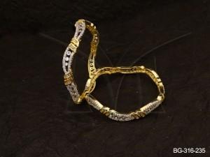 Ad Jewellery , Ribbon Tied Style Ad Jewellery Bangles | Manek Ratna