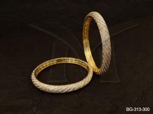 Ad Jewellery , Round Slant Ad Jewellery Bangles | Manek Ratna