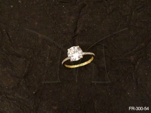 Ad Jewellery , Round Stone Delicate Hold Ad Finger Rings | Manek Ratna