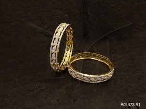 Ad Jewellery , Multi Kairi Designed Ad Bangles | Manek Ratna