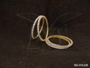 Ad Jewellery , Round Beads Punjabi Dress Stylish Ad Bangles | Manek Ratna