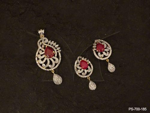 Ad jewellery with indian diamond necklaces women diamond jewellery ad jewellery with indian diamond necklaces women diamond jewellery ad pendant sets by manek ratna cz jewellery american diamond jewelry manufacturer aloadofball Choice Image