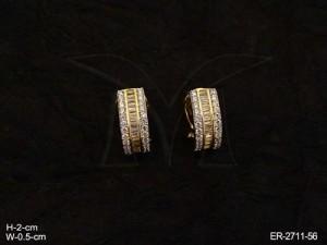 Ad Jewellery , Party Wear Delicate Ad Earrings | Manek Ratna