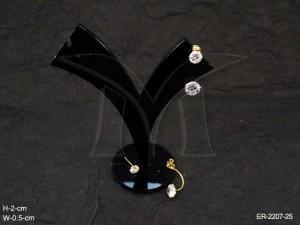 Ad Jewellery , Round Delicate Stud Stylish Ad Earrings | Manek Ratna