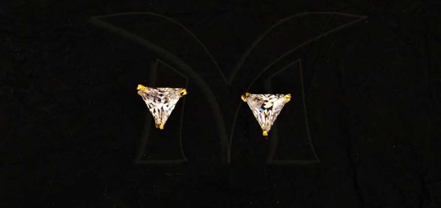 Triangular AD Earrings