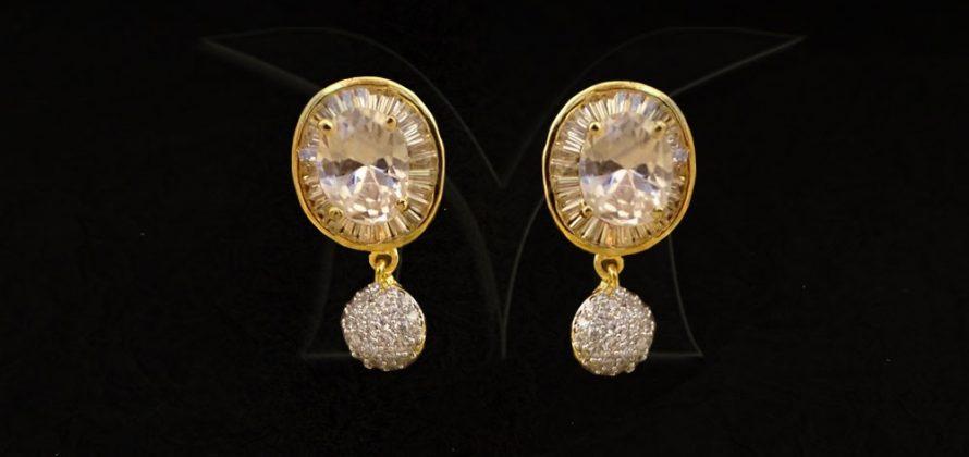 AD jewellery Earring