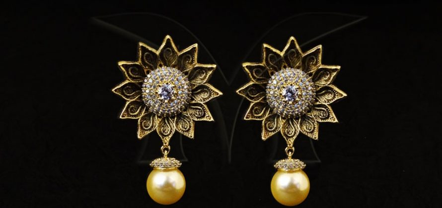 Star Flower AD Earrings