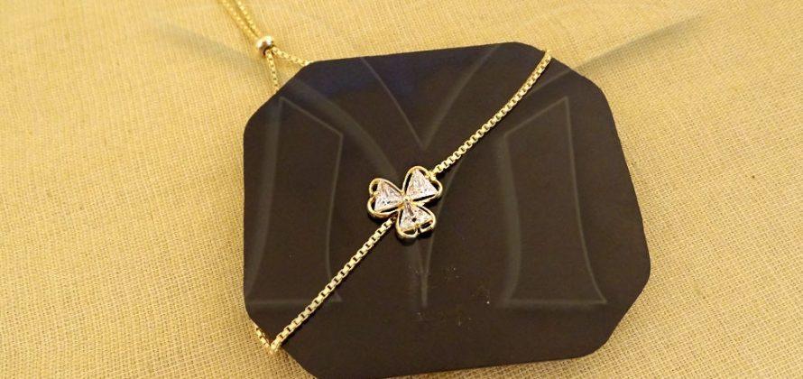 Triangular Flower AD Bracelets