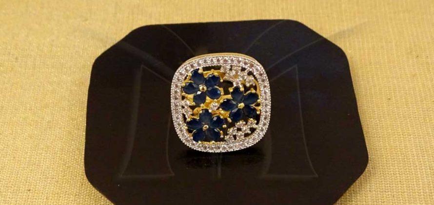 CZ Finger Ring Jewellery