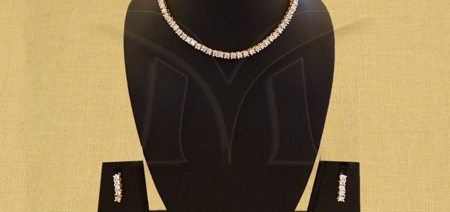 American Diamond jewelry Necklace