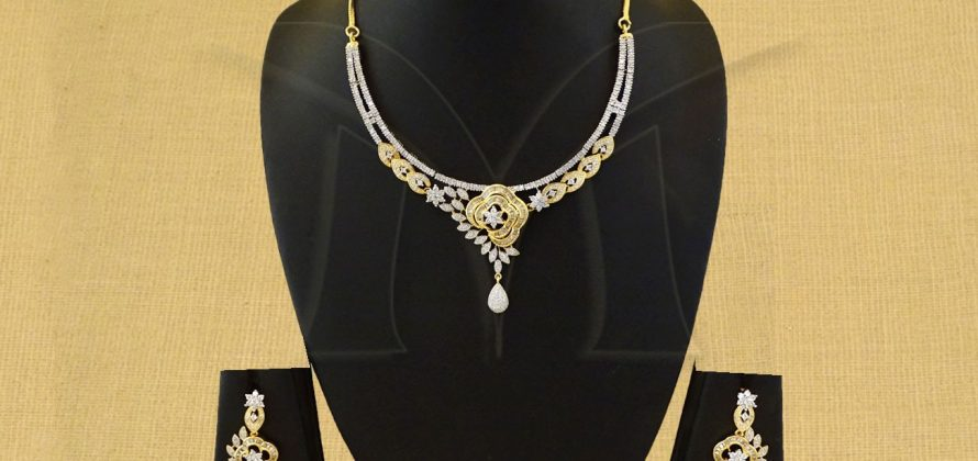 American Diamond Necklace Jewellery
