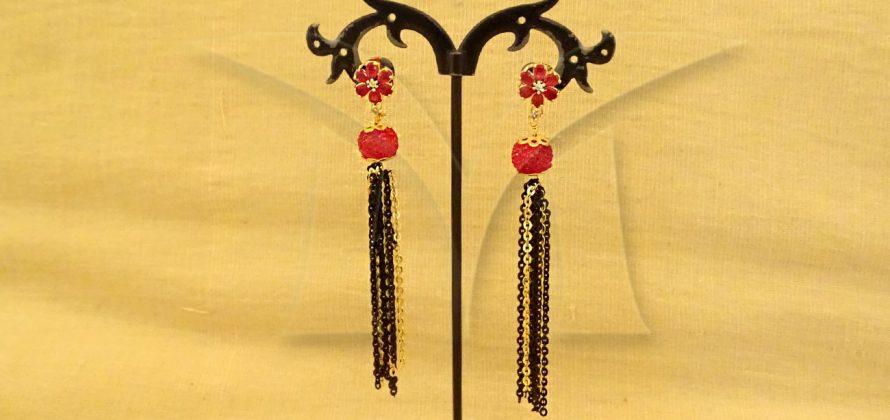 American Diamond Earrings Jewellery