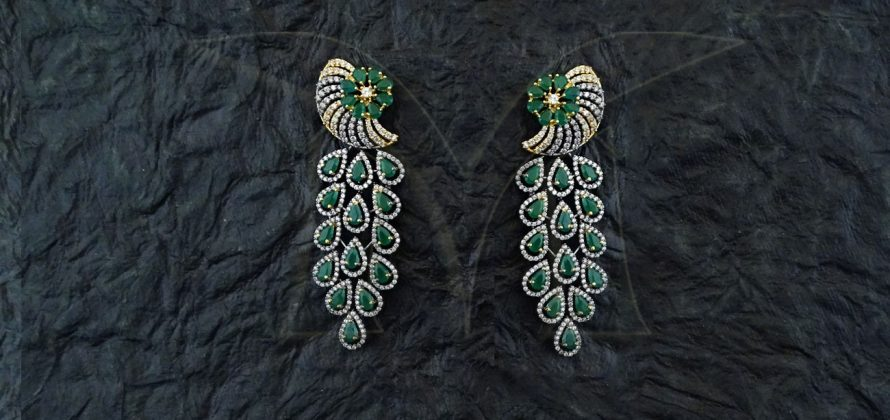 Pankh American Diamond Earrings