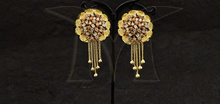 American Diamond Earrings Jewellery