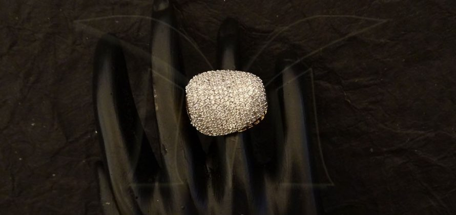 American Diamond Finger Ring