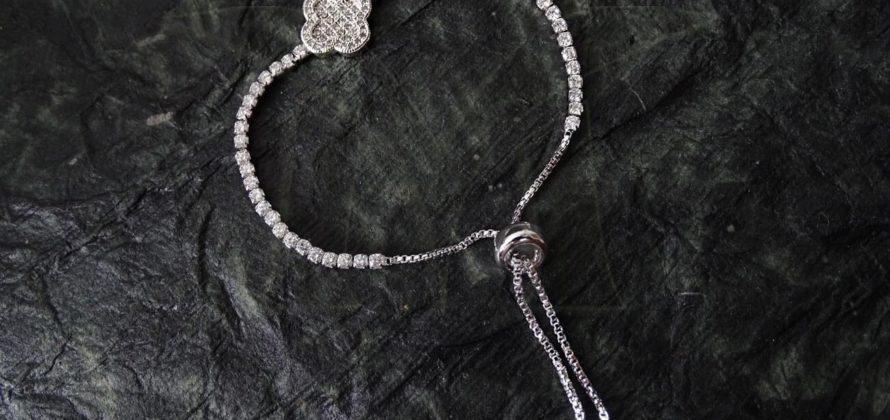 Delicate American Diamond Bracelet